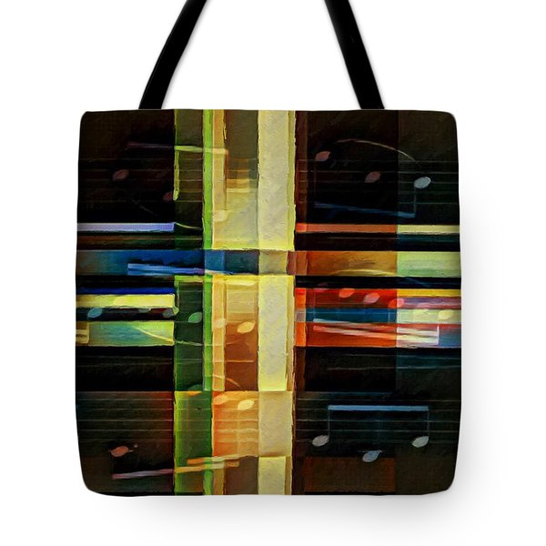 Intersecting Interlude 1 Tote Bag