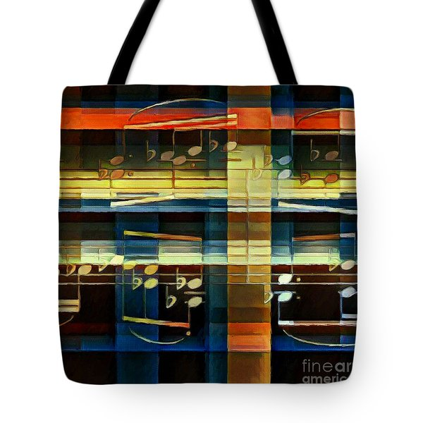 Intersecting Interlude 2 Tote Bag