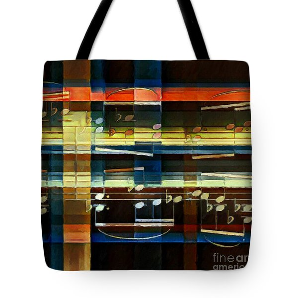 Intersecting Interlude 3 Tote Bag