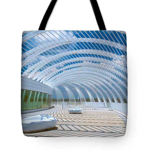 Intersecting Lines - Pastels Tote Bag