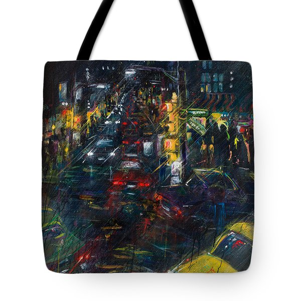 Intersection Tote Bag by Leela Payne