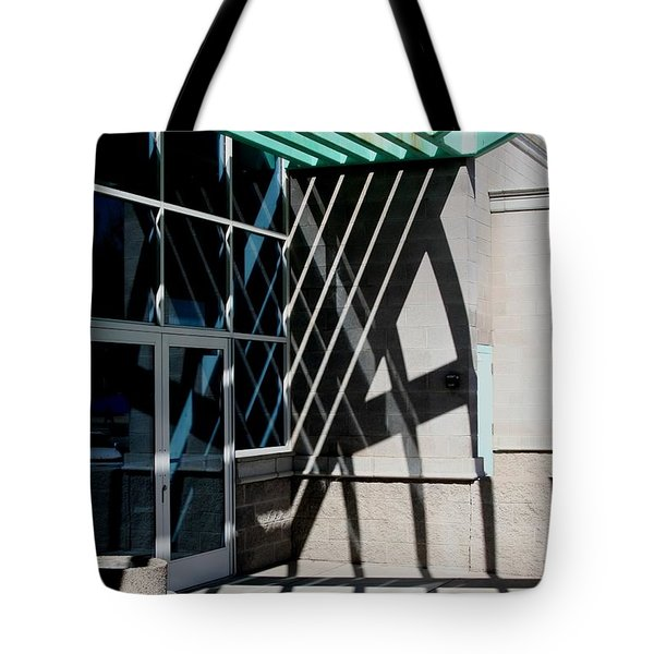 Intersections Tote Bag by David S Reynolds