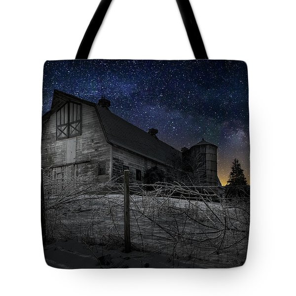 Tote Bag featuring the photograph Interstellar Farm by Bill Wakeley