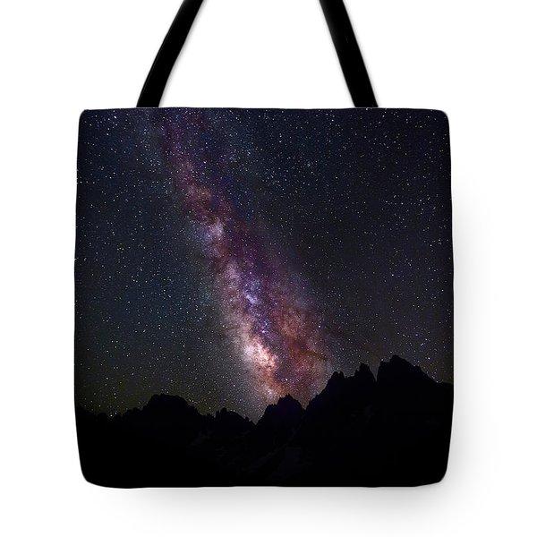Interstellar Highway Tote Bag
