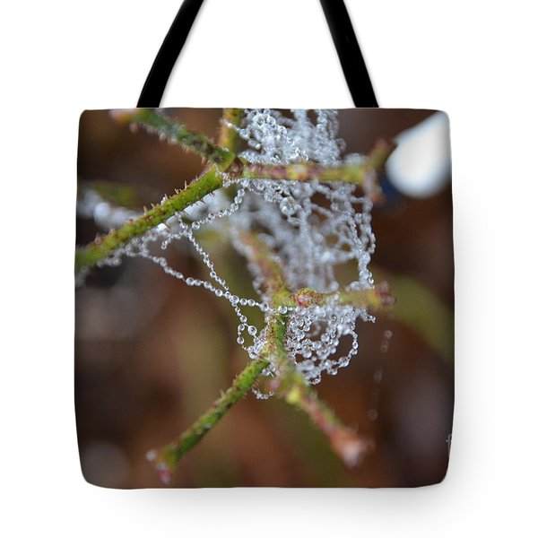 Intertwined In Beauty And Life. -georgia Tote Bag