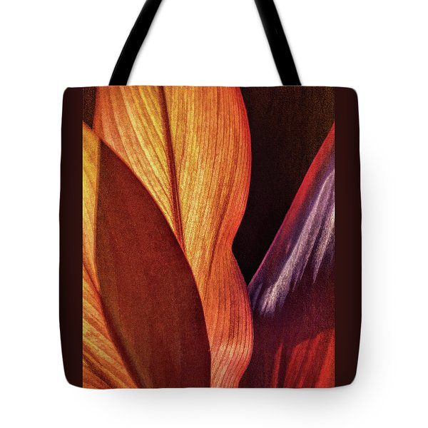 Interweaving Leaves I Tote Bag