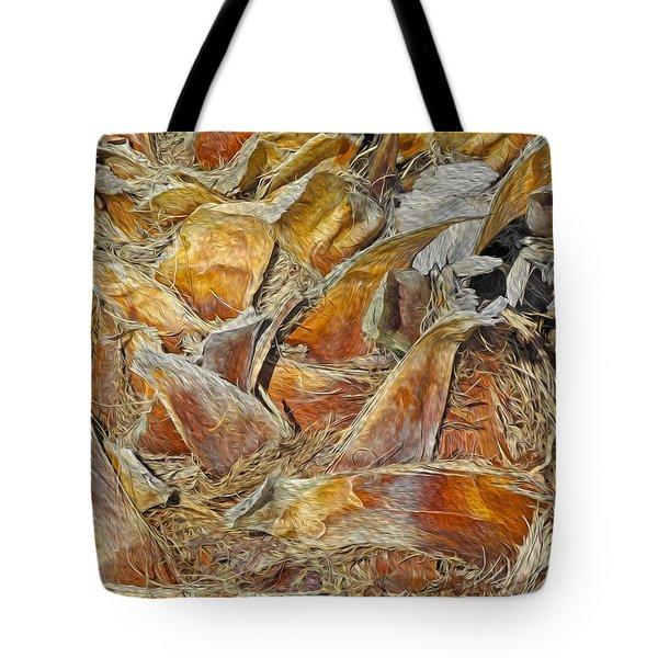 Interwoven 4 Tote Bag