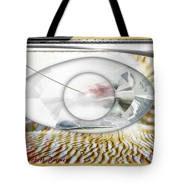 ' In The Blink Of A Eye ' Tote Bag