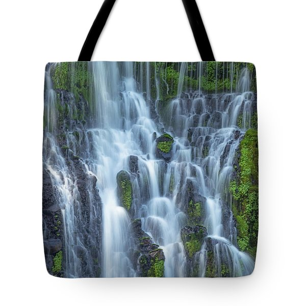 Tote Bag featuring the photograph Intimate Burney Falls by Patricia Davidson