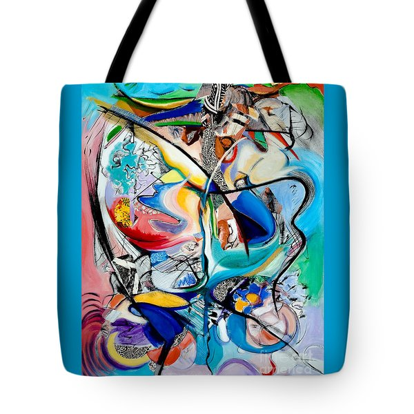 Intimate Glimpses - Journey Of Life Tote Bag