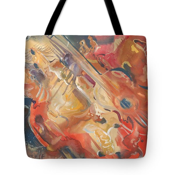 Intimate Guitar Tote Bag