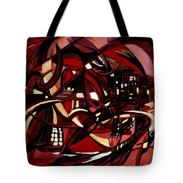 Intimate Still Life With Incidental Intensity Tote Bag
