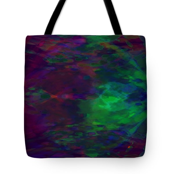 Into A Cave Of Dreams Tote Bag by Mathilde Vhargon