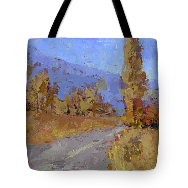 Into Autumn Tote Bag
