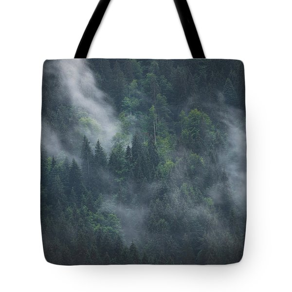 Into Deep Forest Tote Bag