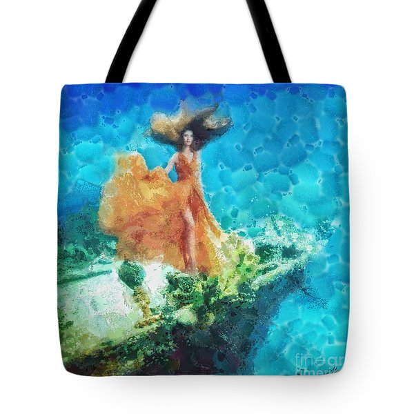 Into Deep Tote Bag