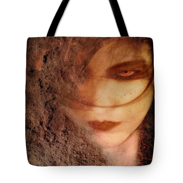Into Dust Tote Bag by Yvonne Emerson AKA RavenSoul