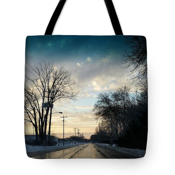 Into New Country Tote Bag