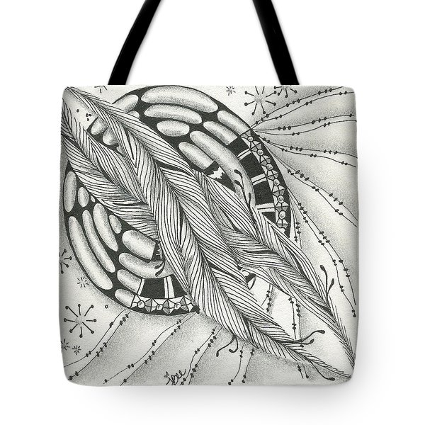 Into Orbit Tote Bag by Jan Steinle