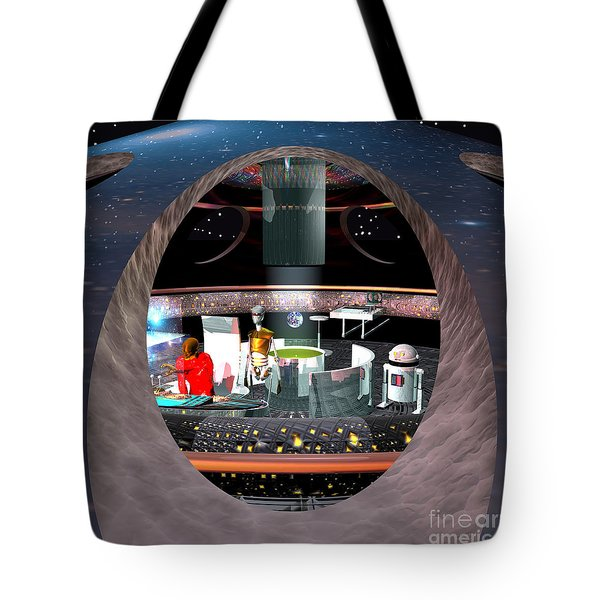Into Renfo's World Tote Bag