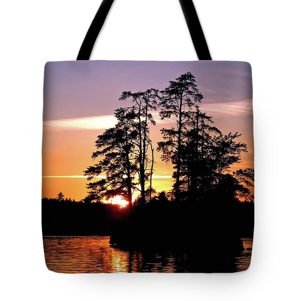 Into Shadow Tote Bag