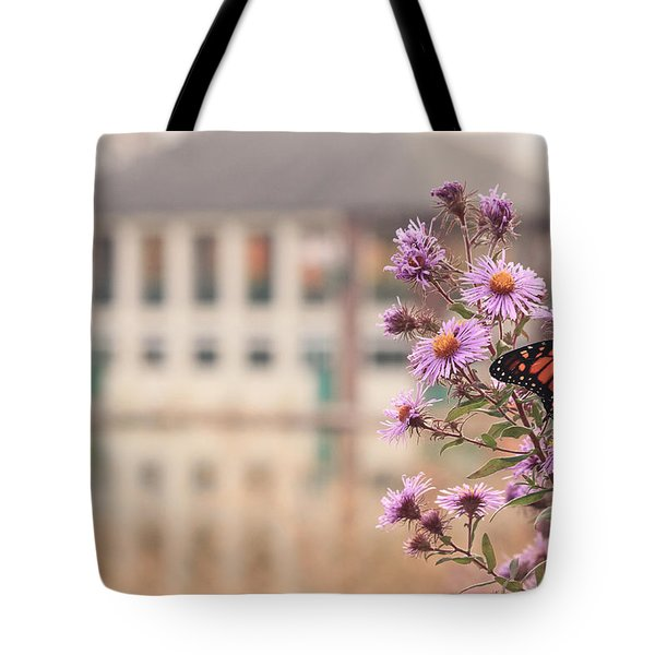 Into The Asters Tote Bag