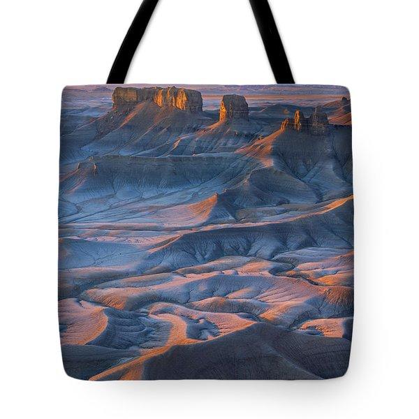 Into The Badlands Tote Bag