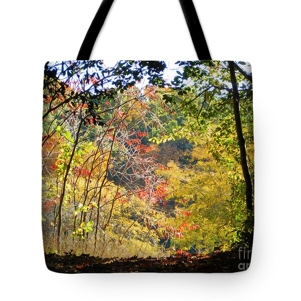 Into The Clearing Tote Bag