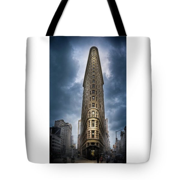 Tote Bag featuring the photograph Into The Clouds by Marvin Spates