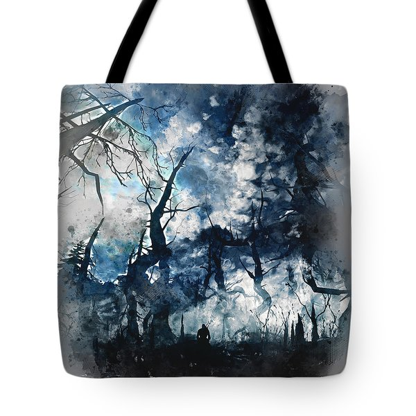 Into The Darkness - 01 Tote Bag