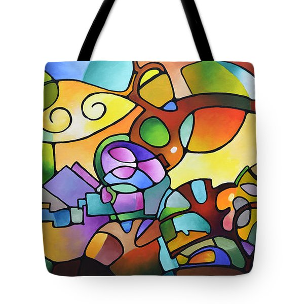 Into The Day Tote Bag