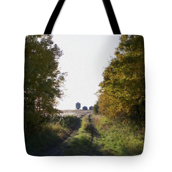 Into The Fields Tote Bag by Ellery Russell