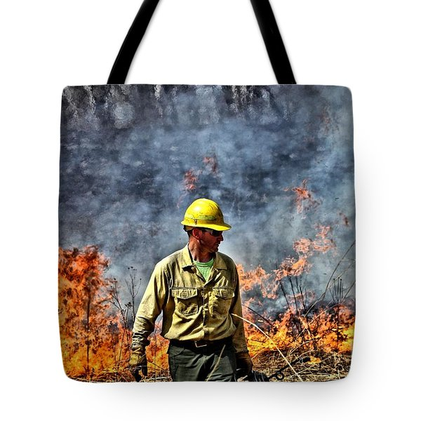 Into The Flames 1 Tote Bag