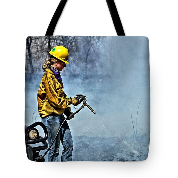 Into The Flames 2 Tote Bag