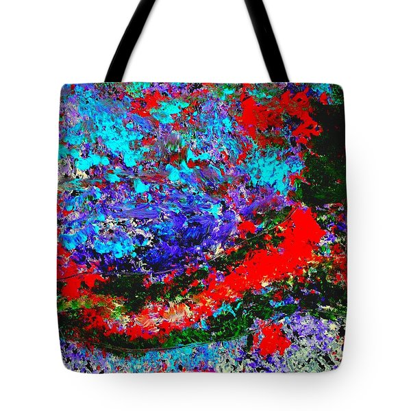 Into The Forest Of Midnight Tote Bag