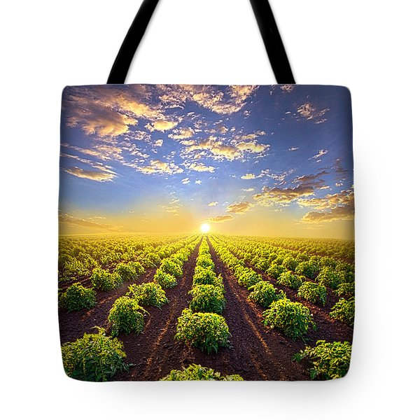 Into The Future Tote Bag by Phil Koch