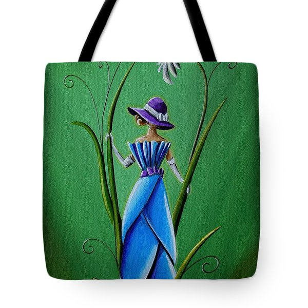 Into The Garden Tote Bag by Cindy Thornton