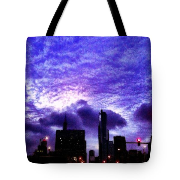 Into The Heart Of The Loop Tote Bag