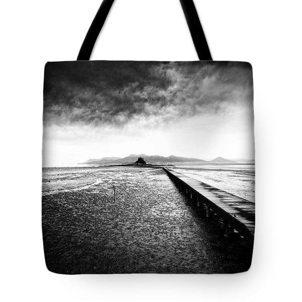 Into The Landscape Tote Bag