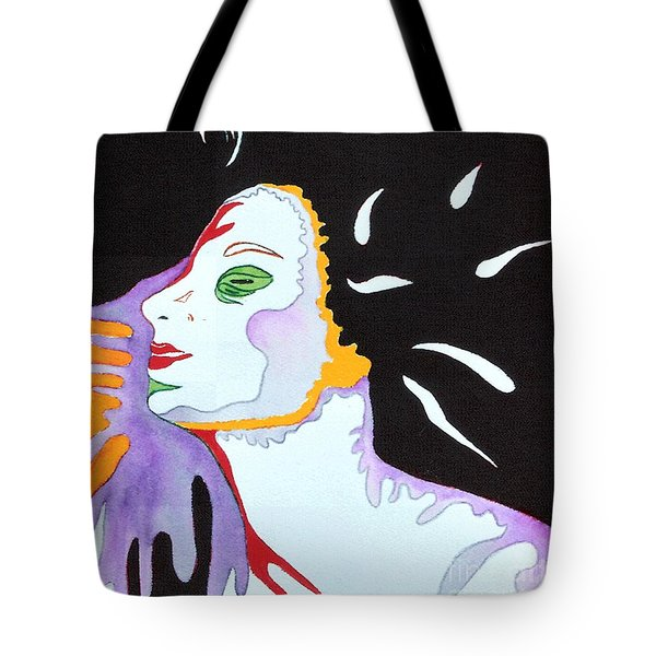 Into The Light Tote Bag by Diana Bursztein