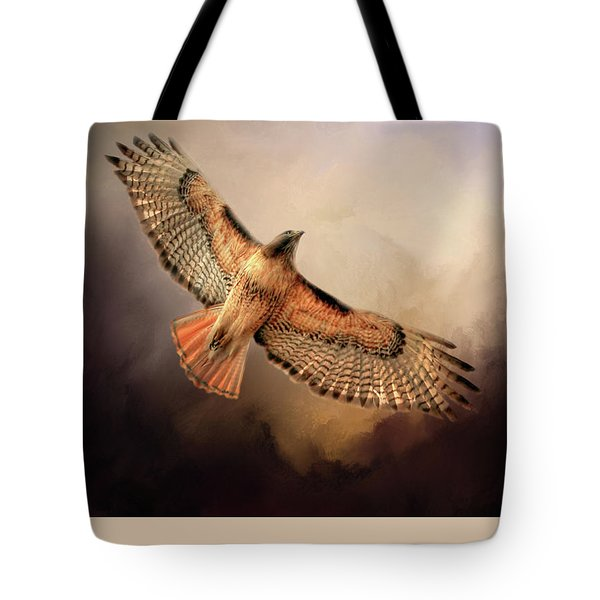 Tote Bag featuring the photograph Into The Light by Donna Kennedy