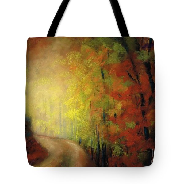 Into The Light Tote Bag by Frances Marino