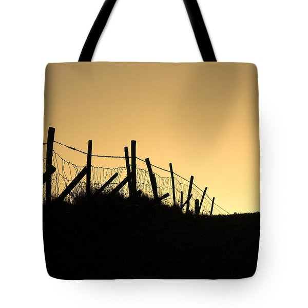 Into The Light Tote Bag by Hazy Apple