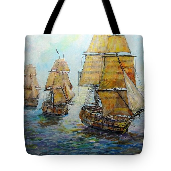 Into The Mediterranean Tote Bag