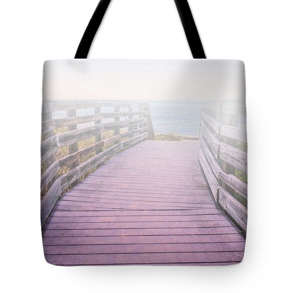Into The Mist Tote Bag by Swank Photography
