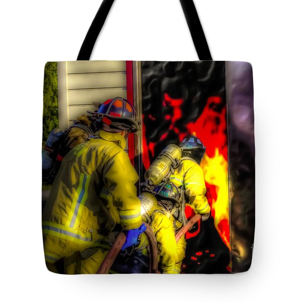 Into The Mouth Of The Dragon Tote Bag