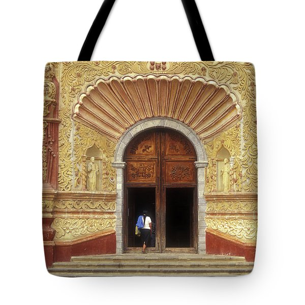 Into The Mystic Jalpan Mexico Tote Bag