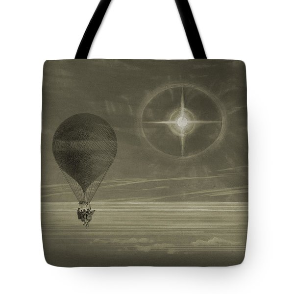 Into The Night Sky Tote Bag
