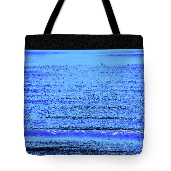 Into The Ocean Void Tote Bag