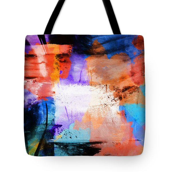 Tote Bag featuring the painting Into The Open by Dan Sproul